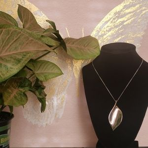 NY & Co Leaf Necklace